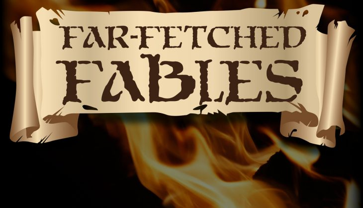 Podcast Art: Far Fetched Fables